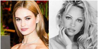 Lily James, la nueva y rejuvenecida Pamela Anderson