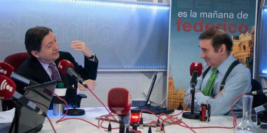 """Losantos concede una entrevista a El Español para poner a parir a Pedrojota: """"Os dedicáis a calumniar a VOX"""""""
