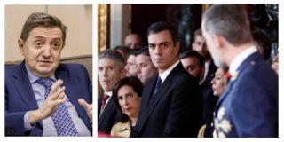 """Losantos: """"Felipe VI ha sabido resistir bajo el fuego cruzado de dos bandas miserables, PSOE y comunistas"""""""
