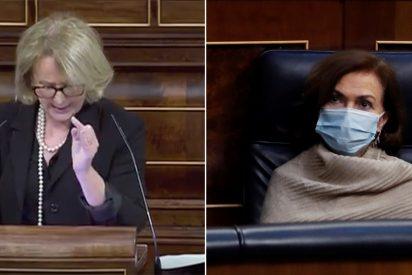 """Feroz palo de Lourdes Méndez (VOX) al Gobierno por aprobar la eutanasia: """"¡Es la industria de la muerte!"""""""