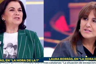 Primero se les blanquea y luego te vacilan: la chulería de la 'indepe' Laura Borràs en TVE