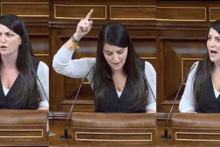 """Enganchada de Macarena Olona (VOX) con PP y C's: """"¡Despierten! Con estos presupuestos España se va a la ruina"""""""