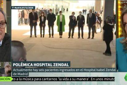 Comedia barata (y antigua) en laSexta: el troleo de Marhuenda a Tania Sánchez por atacar a Ayuso