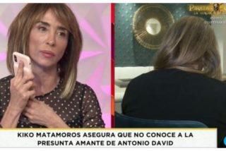 """María Patiño hace el ridículo entrevistando a la """"amante"""" de Antonio David Flores"""