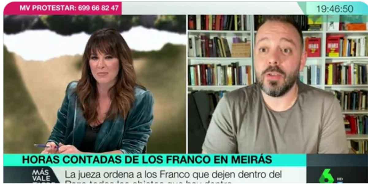 Tremendo error de laSexta: Mamen Mendizábal pide disculpas por 'colocar' al exfiscal Mena en el chat de los militares