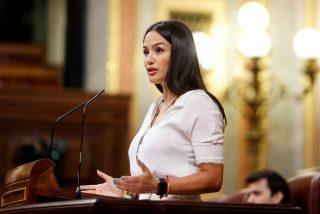 La nueva estrella: de VOX, se llama Mireia Borrás, es diputada y así 'fulmina' a Irene Montero