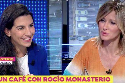 """Un eslogan de Rocío Monasterio en TV hace papilla a Sánchez: """"No tengo miedo a la vacuna, sino al Gobierno"""""""