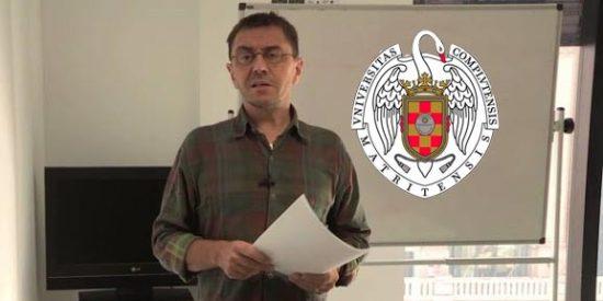 ¡Cierre al salir!: La Complutense expulsa a Monedero como profesor a tiempo completo por sus 'chanchullos'