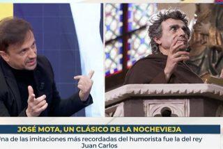 La desgraciada idea de TVE y José Mota para recibir el 2021: 'Fernando Simón', de monje, cantando Resistiré