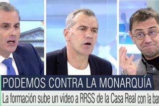 Ortega Smith y Toni Cantó destrozan a Monedero: su pastizal, su expolio, su obsesión secreta y sus amantes