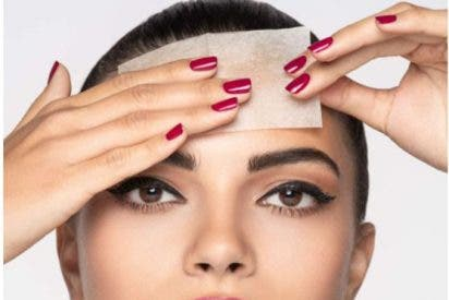 Papeles secantes para la cara