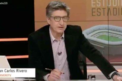 """A los de 'Estudio Estadio' (TVE) se les cuela un audio que llama """"gilipollas"""" a su presentador, Juan Carlos Rivero"""