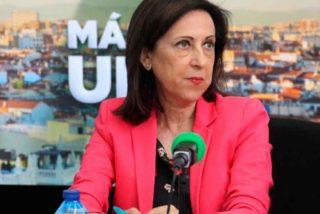 """Margarita Robles se enfrenta a Julia Otero y a medio grupo Atresmedia: """"Las Fuerzas Armadas sí son democráticas"""""""