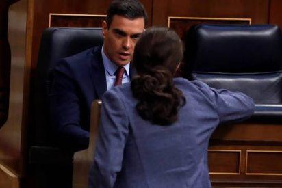 Moncloa oculta un gran palo de Pablo Iglesias a Pedro Sánchez para no incendiar el PSOE
