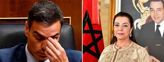 """La embajadora de Marruecos se ríe en la cara de Sánchez: """"Ceuta y Melilla son marroquíes y ocupadas por España"""""""