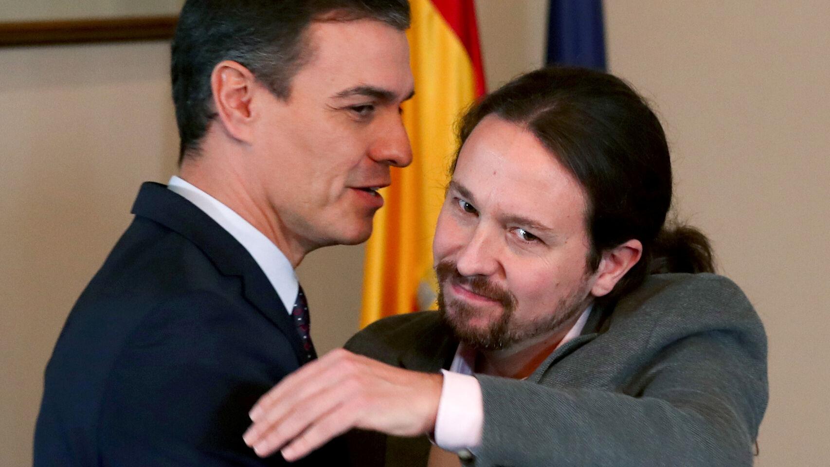 Bochorno mundial: Mohamed VI humilla a Pablo Iglesias y denigra a Pedro Sánchez