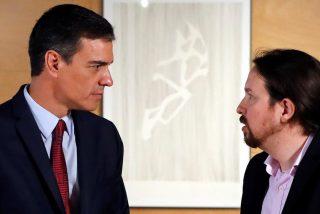 Iglesias y Sánchez, aterrados: sondeo sin trampa que pone al borde de la mayoría absoluta a PP y VOX