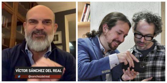 """Víctor Sánchez del Real: """"A James Rhodes le dan la nacionalidad por ser el lamebotas de este Gobierno"""""""