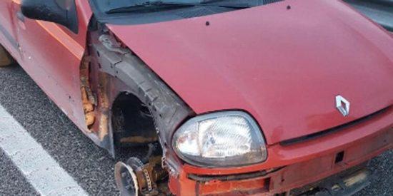 Detenida una mujer por conducir ebria y sin un neumático por Ávila
