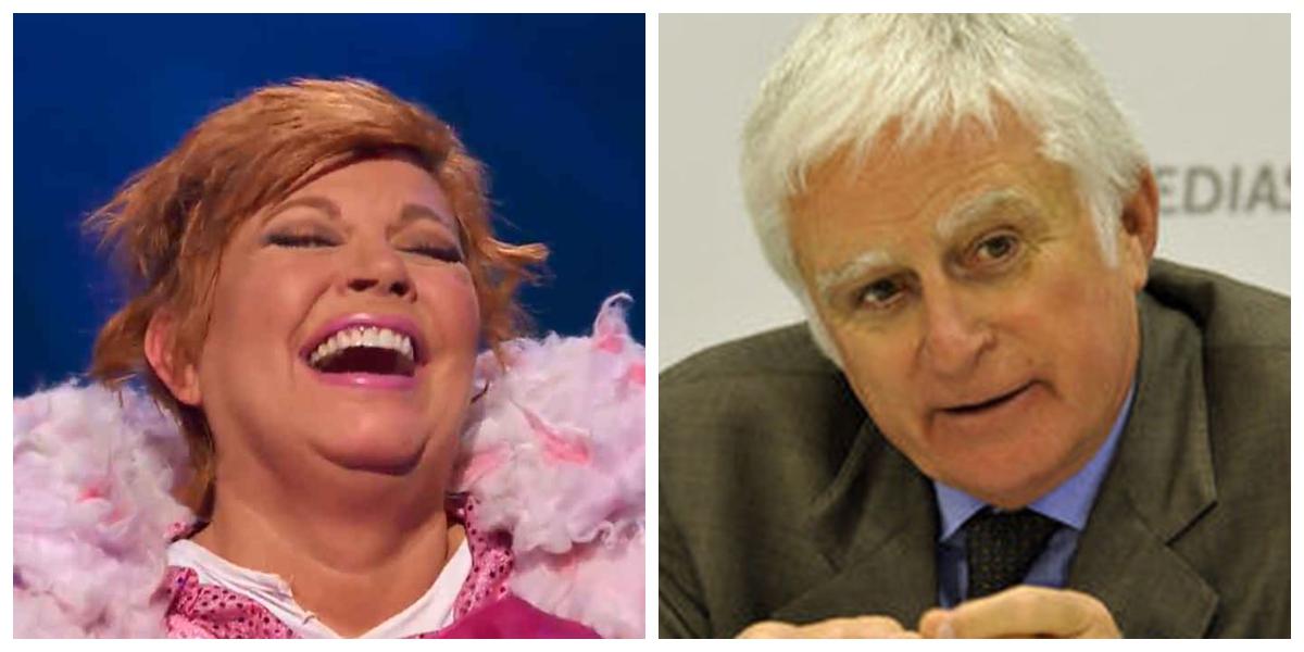 Terelu Campos se ríe de Paolo Vasile y triunfa en 'Mask Singer': ¿La echarán de Telecinco?