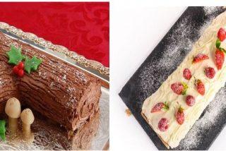 Tronco de Navidad de chocolate: 2 recetas fáciles 🎅🎄