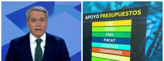 Vicente Valles muestra los 'fiables' socios que se ha buscado Pedro Sánchez.