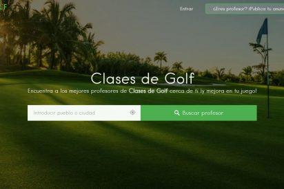 Nace Clasesde.golf, la plataforma especializada para encontrar al mejor profesor de golf