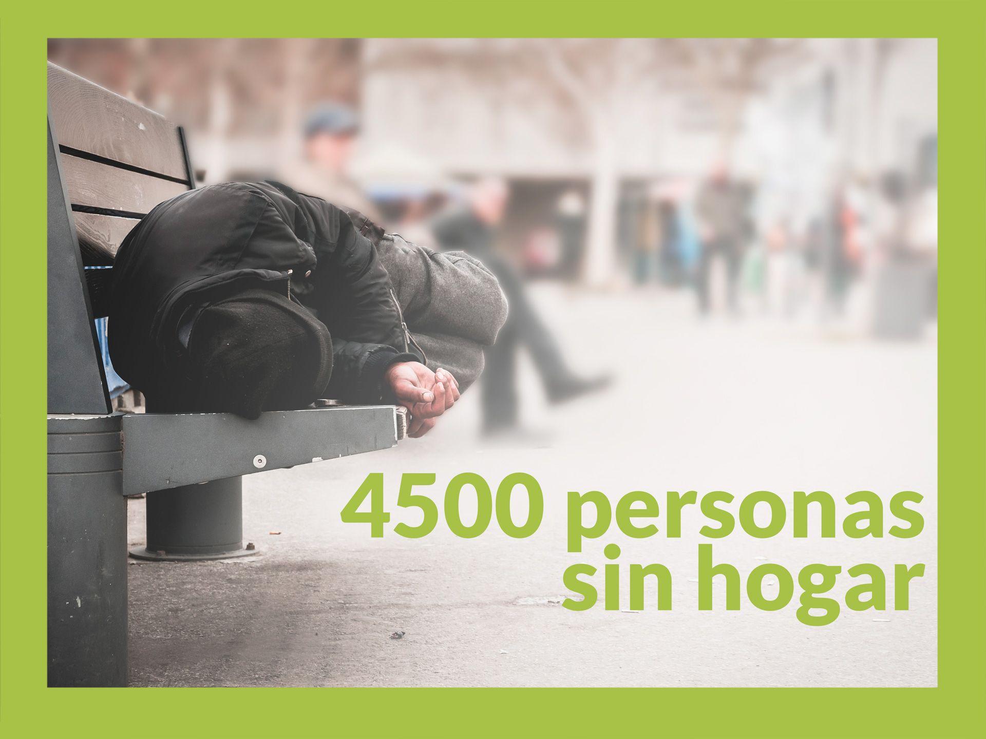 Repara tu deuda, líderes en la Ley de la Segunda Oportunidad, anuncia que hay 4500 personas sin hogar