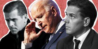 El Quilombo / Todos al suelo que vienen Joe Biden y su hijo a sanar a la sociedad americana
