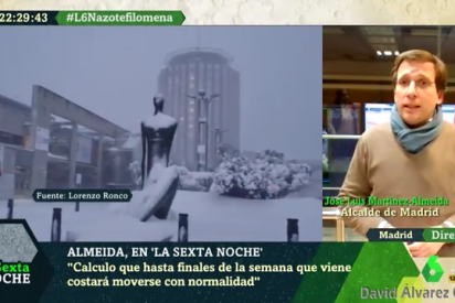 """Martínez-Almeida: """"Hasta finales de la semana que viene los madrileños no podrán moverse con su vehículo"""""""