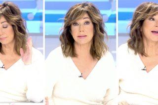 """Ana Rosa llega al límite: """"¡Es alucinante! Todo el que no comulga con Podemos es fascista..."""""""