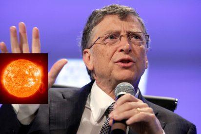 El multimillonario Bill Gates, dueño de Microsoft, planea tapar el Sol para enfriar el Planeta Tierra