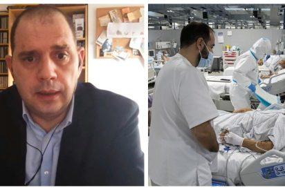 """Carmelo Jordá (Libertad Digital): """"Esos sanitarios que critican al Zendal defienden sus privilegios, no la sanidad pública"""""""