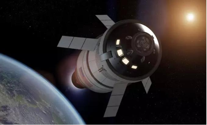 La primera nave Orion ya está lista para empezar su viaje a la Luna