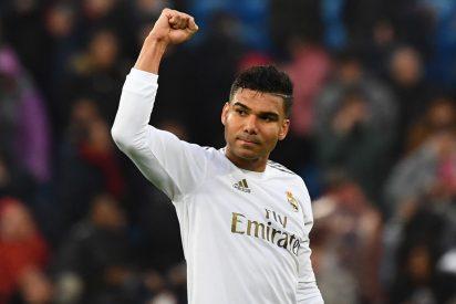 Casemiro se convierte en el jugador más valioso del Real Madrid