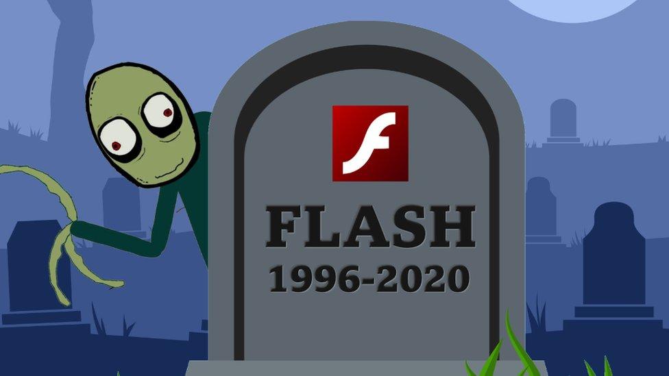 Los internautas 'entierran' Adobe Flash Player con memes y dando trucos para seguir usándolo