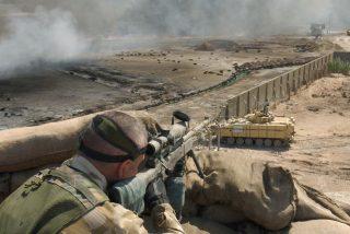 Este francotirador británico mata a 5 terroristas del Estado Islámico con un solo disparo