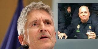 Acusan a Marlaska de 'negligencia mortal', tras morir por Covid un policía de 51 años que controló ilegales