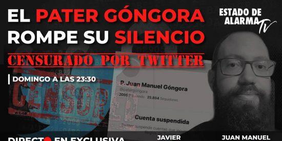 Las 'Big Tech' redoblan la censura contra la derecha: cierran las cuentas de Páter Góngora y 'Estado de Alarma'