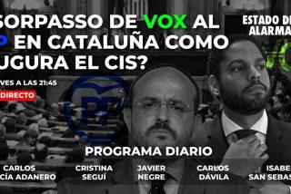 TERTULIA / ¿Sorpasso de VOX al PP en Cataluña como augura el CIS?