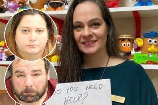 Esta camarera rescató al niño de esos padres maltratadores con una nota secreta