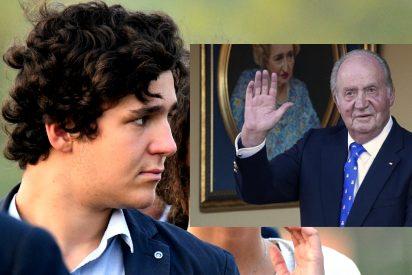 Froilán voló a Emiratos y alegró allí el 83 cumpleaños de su abuelo, el Rey Juan Carlos