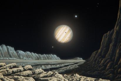 La NASA lleva a Juno a tan solo 1.000 kilómetros de la luna Ganímedes