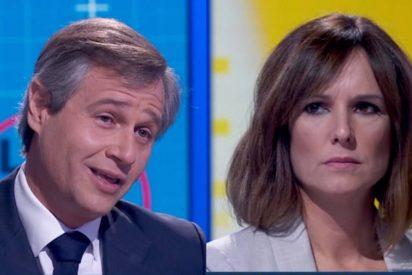 """Mónica López se hace la ofendida cuando González Terol acusa a TVE de cortar a Pablo Casado: """"¿¿Nosotrooos??"""""""