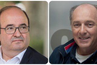 Twitter aplaude el genial desprecio de José Manuel Soto hacia Miquel Iceta