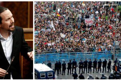 """Inda: """"Lo del Capitolio certifica que tenemos una Policía para presumir y que hace rabiar a Pablo Iglesias"""""""