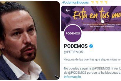 """Zasca de un votante de Iglesias a su partido: """"Unidas Podemos me ha bloqueado siendo militante"""""""