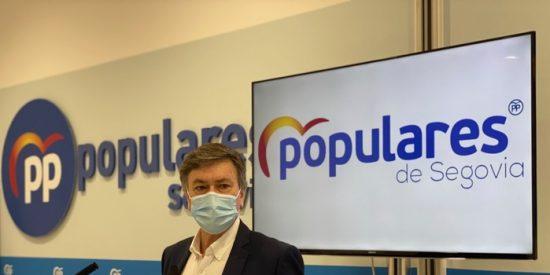 """Francisco Vázquez (PP CyL): """"Los socialistas sólo aciertan cuando rectifican, y ahora no rectifican"""""""