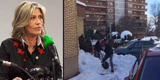 """Carcajadas en Twitter por esta 'reflexión' de Julia Otero: """"¿Han puesto la nieve y el virus el modelo ultraliberal contra las cuerdas?"""""""