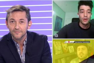 El 'youtuber' Wolverine da una dura lección sobre impuestos al periodista Javier Ruiz en CuatroTV